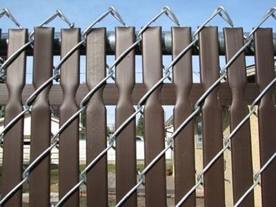 Double Wall Privacy Fence Top Locking
