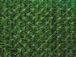 Chain Link Hedge Slats Privacy Fence