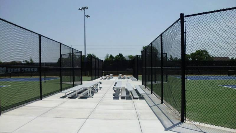 Black Tennis Chain Link Fabric