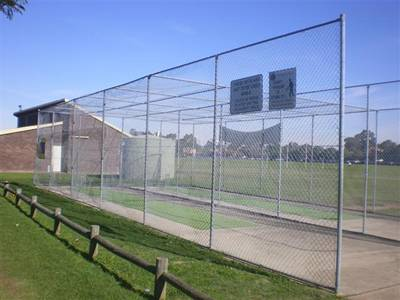 Galvanized Cricket Chain link Fencing