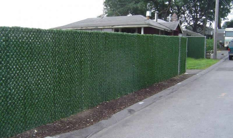 Green Hedge Privacy Slats Toronto