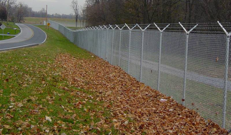 Highway Chain Link Fence