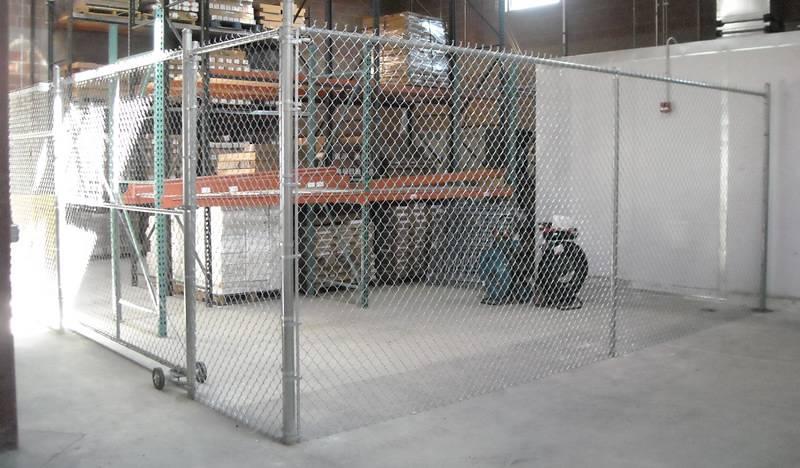 Indoor Chain Link Fence